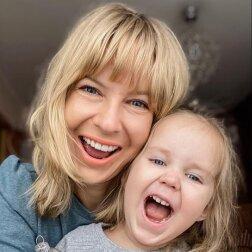 edyta pazura ze swoją córką