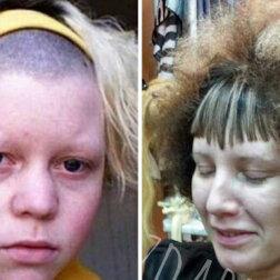 Nie ma żartów: dziewczyny, które padły ofiarami niezdarnych fryzjerów (ZDJĘCIA)