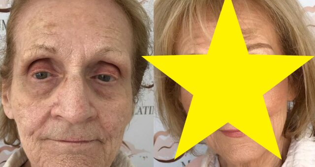 makijaż 80-latki