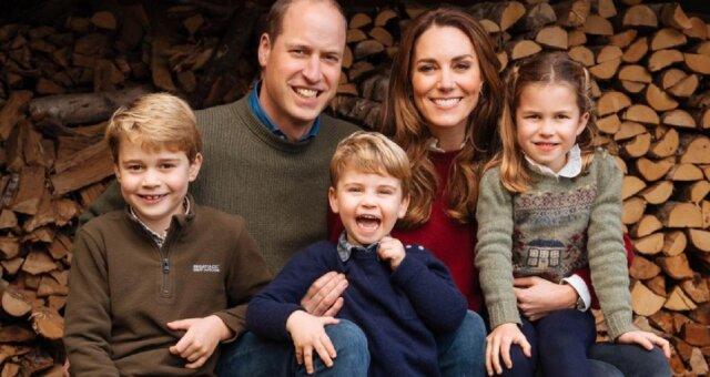 książę William, Kate i dzieci