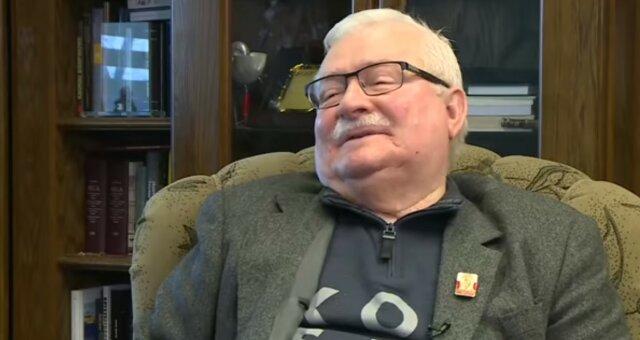 Lech Wałęsa, screen YT