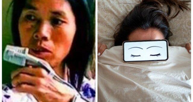 kobieta żyjąca bez snu