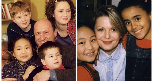 Aktorzy Rodziny Zastępczej kiedyś i dziś
