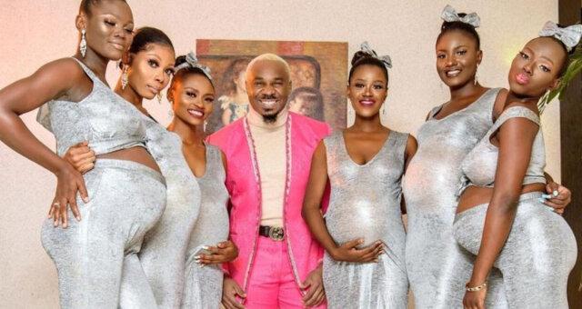 Milioner pojawił się na weselu z sześcioma ciężarnymi pannami młodymi