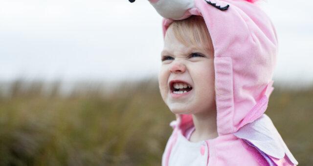 dzieci zmusili swoich rodziców cieszyć się, śmiać się, a nawet lekko zarumienić się