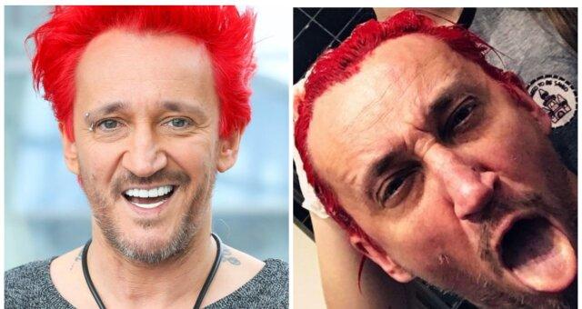 jak i czym michał wiśniewski farbuje włosy