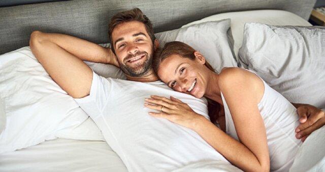 co mówi o twoim związku pozycja, w której zasypiacie