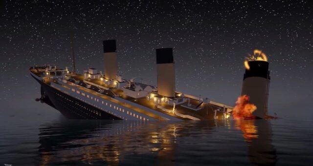 titanic milosc