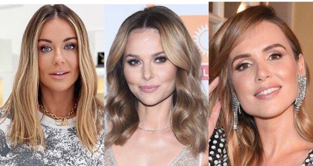 te blondynki wcześniej byli brunetkami