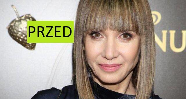 Grażyna Wolszczak nowa fryzura