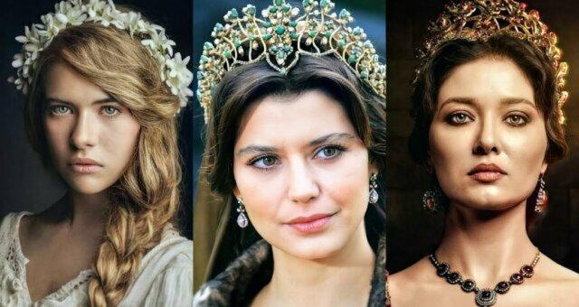 Aktorki, które grały rolę Kösem Sultan w różnych okresach jej życia