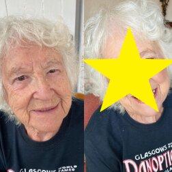 Makijażystka pomalowała swoją 90-letnią babcię. Efekt jest niesamowity