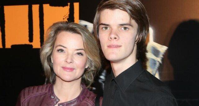 Monika Richardson z synem