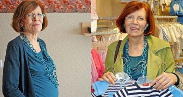 65-letnia mama