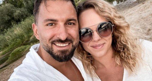 rafał maślak z żoną