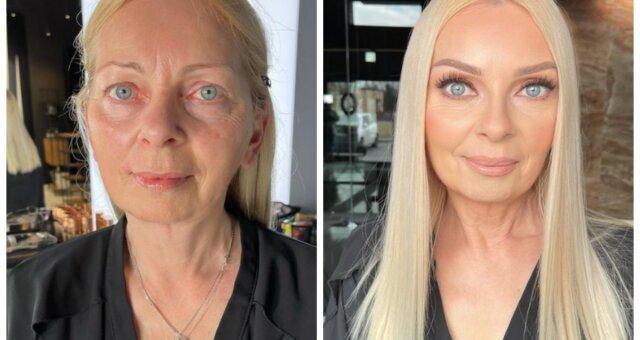 makijaż kobiety dojrzałej pomysły