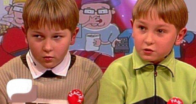 bliźniacy z dużych dzieci