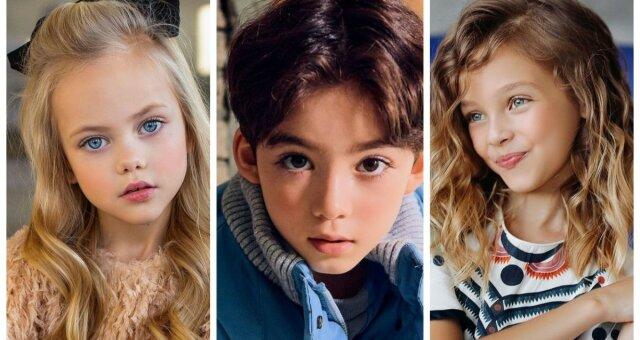 najpiękniejsi dziecięcy modele